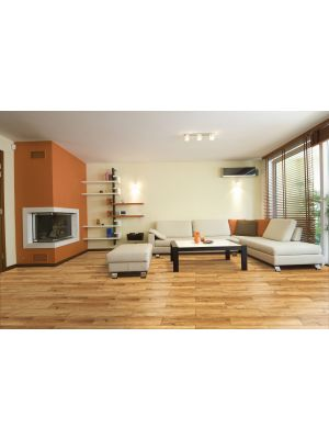 Alpes Miel Red Wood Effect Floor Tile