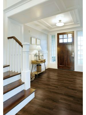 Alpes Wenge Dark Wood Effect Floor Tile