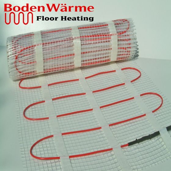 Electric Underfloor Heating Mat 150w / m²