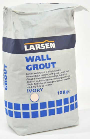 Trade Ivory Wall Tile Grout 10kg
